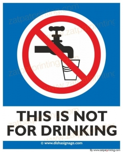 This Is Not For Drinking