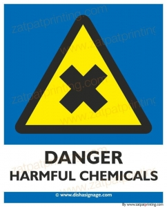 Danger Harmful Chemicals