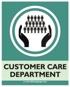 Customer Care Departement