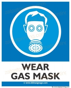 Wear Gas Mask