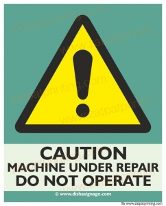 Machine Under Repair d.Not O