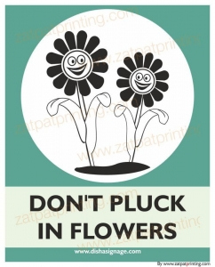 Don't Pluck in Flower