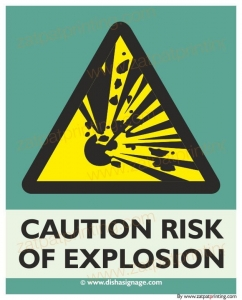 Risk Of Explosion