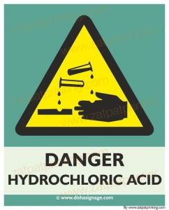 Danger Hydroelectric  Acid