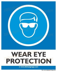 Wear Eye Protection