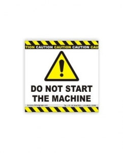 Do Not Start The Machine