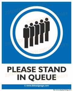 Please stand in Queue