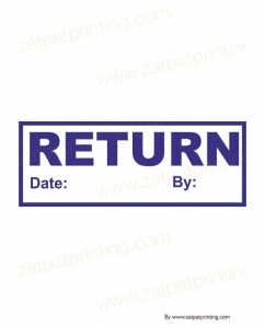 Return Stamp