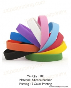 Wrist Band Rubber