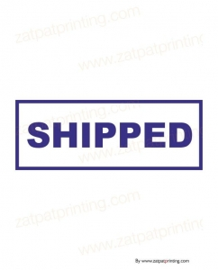 Shipped Stamp