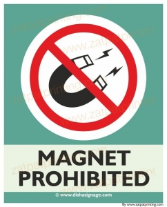 Magnet Prohibited