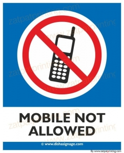 Mobile Not Allowed