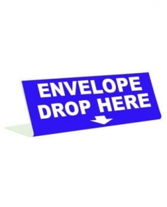 Envelopes Drop Here