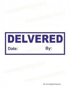 Delivered Stamp