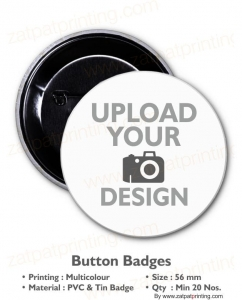 Button Badge 56 mm